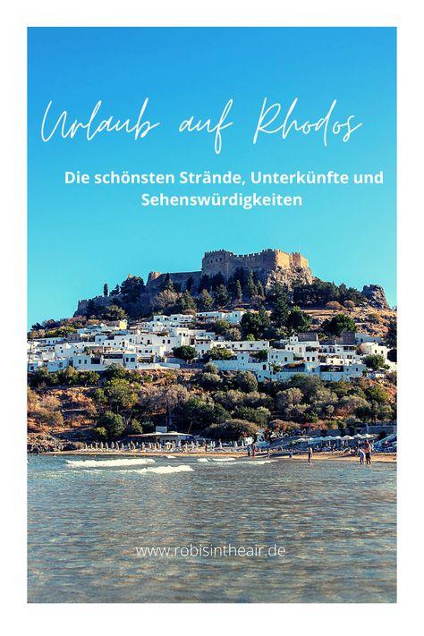Urlaub auf Rhodos – das gibt es zu entdecken