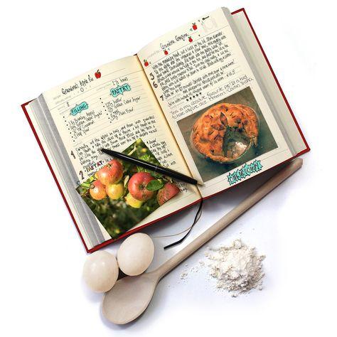 Livre De Cuisine Familiale à Remplir Soi Même Cadeaux Family