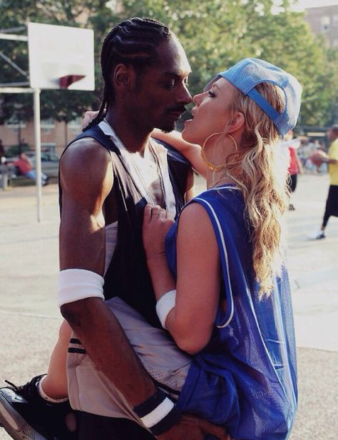 Snoop Dogg and Britney Spears.
