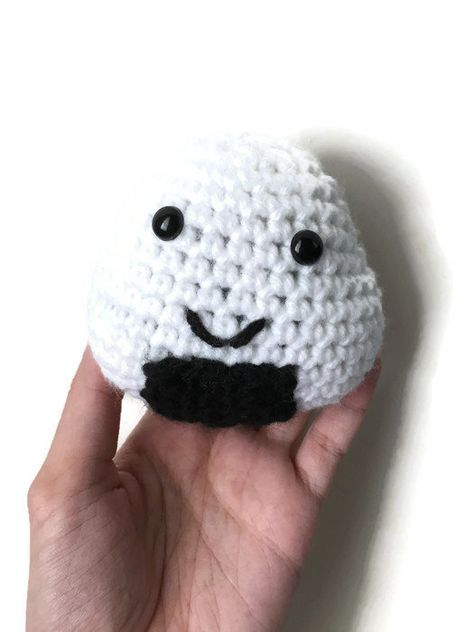 HandmadeKitty: FREE Onigiri Couple Amigurumi Crochet pattern by ... | 632x474