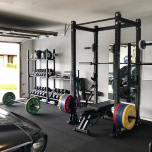 Rogue Equipped Garage Gyms Photo Gallery Rogue Fitness Gym Room At Home Home Gym Garage Home Gym Basement