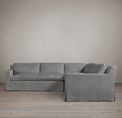 petite belgian track arm slipcovered sofa cama conforama madrid customizable sectional project