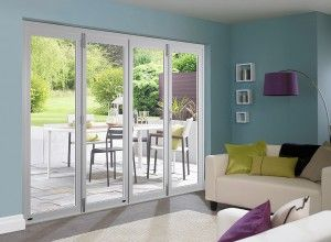 Master White 3m Approx 10ft Bifold Doors Folding Patio Doors White Bifold Doors Bifold Doors Onto Patio