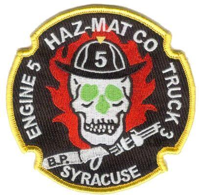 Syracuse NY  Engine 9 Fire Patch