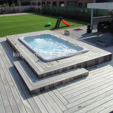 Fiberglass Pool,Mini Outdoor Swimming Pool,Endless Swim Spa Outdoor Jcs-15