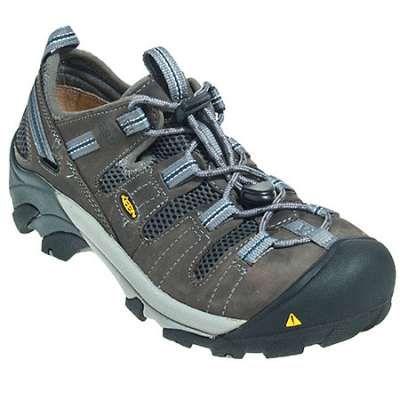 2cd9fe5e233 Keen Shoes: Men's Grey 1006979 Atlanta Cool Steel Toe ESD Slip Resistant  Shoes