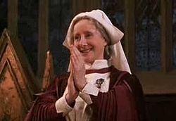 Gemma Jones As Poppy Pomfrey Gemma Jones Wizarding World Of Harry Potter Hogwarts Theme