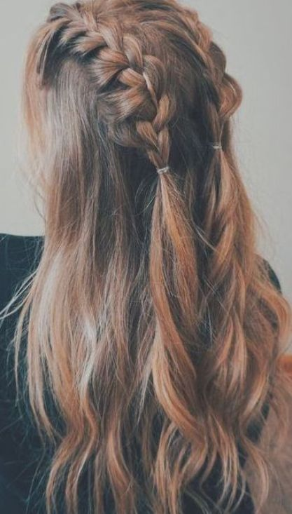 Braid Hairstyles Ponytail 2018 Current Hairstyles 2018 Women 39 S Hair Braid Zopf Frisuren Pferdeschwanz Frisuren Flechtfrisuren Geflochtene Frisuren