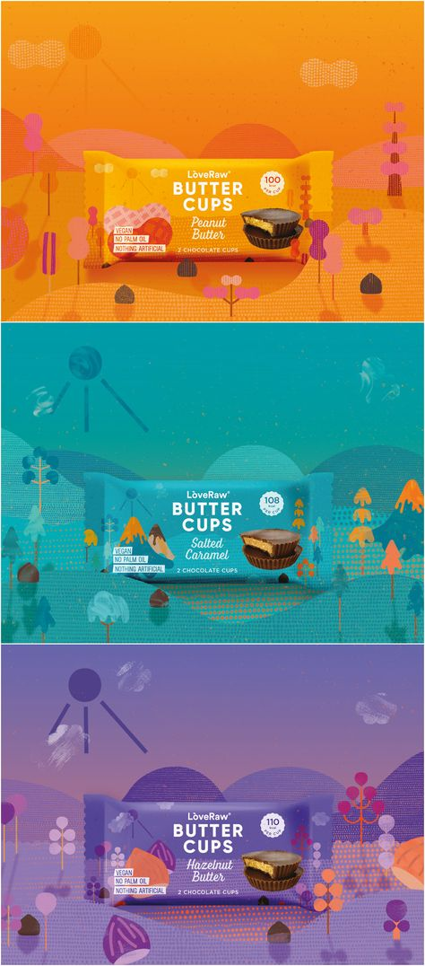 Refreshed Brand Design for Trusted LoveRaw Butter Cups
