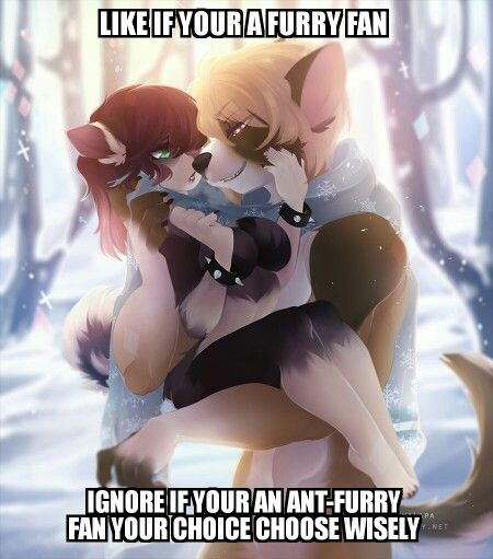 Hot female furries captions