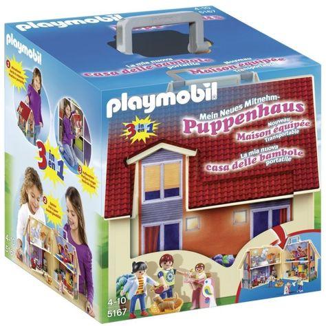 Playmobil 5167 La Maison Transportable Maison Transportable