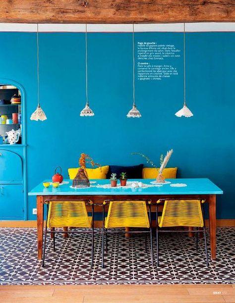 Cuisine Jaune Et Bleu : Cuisine Provencale Jaune et Bleu images ...