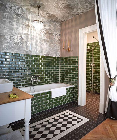 Luxury Apartments Berlin Mitte Boardinghouse Temporary Accommodation Berlin Gorki Apa Accommod Green Bathroom Eclectic Bathroom Bathroom Interior Design