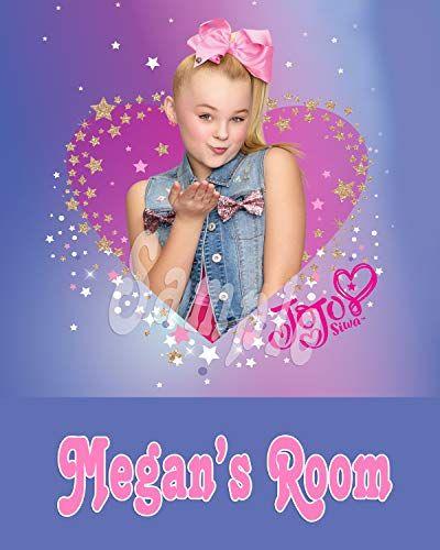 Jojo Siwa Personalized Poster Poem 8x10 Room Wall Decor Personalized Poster Jojo Siwa Jojo Siwa Instagram Jojo Siwa Birthday Birthday Party Treat Bags