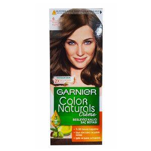 Garnier Color Naturals Sac Boyasi No 6 Koyu Kumral 1 Adet 2020