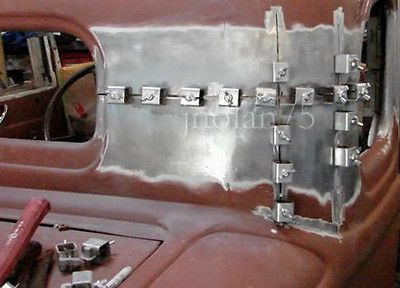 8Pc Butt Welding Clamps Weld Sheet Metal Auto//Car Truck Door Skin Panel Fender