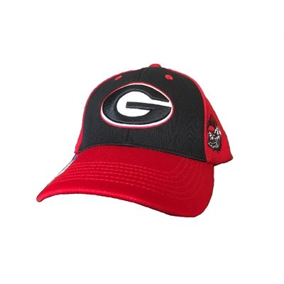 9713aa0f127 Georgia Bulldogs Tournament Straw Gambler Hat