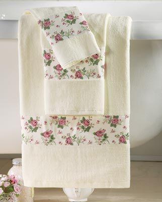 Rose Garden Towel Set