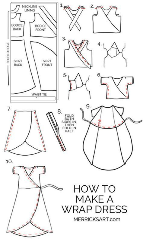 If you love sewing, then chances are you have a few fabric scraps left over. You aren't going to always have the perfect amount of fabric for a project, after all. If you've often wondered what to do with all those loose fabric scraps, we've … Dress Sewing Tutorials, Sewing Hacks, Sewing Crafts, Sewing Tips, Sewing Art, Tutorial Sewing, Sewing Desk, Sewing Basics, Leftover Fabric