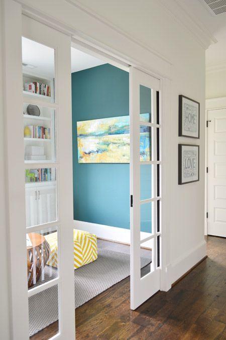 Les 14 meilleures images à propos de Bookcase around open door sur - Peindre Un Encadrement De Porte
