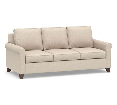 Cameron Roll Arm Deep Seat Upholstered Sofa Upholstered Sofa