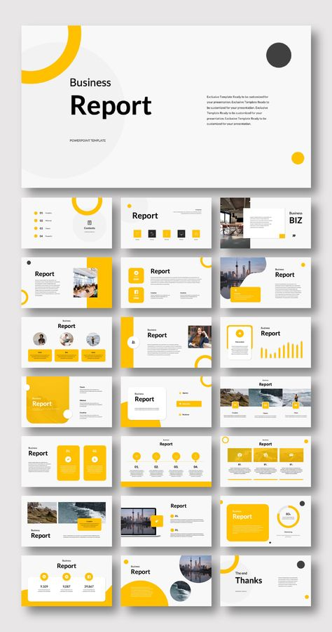 Creative Minimalism Design PowerPoint template – Original and High Quality PowerPoint Templates