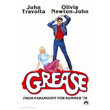 Grease posters for sale online. Buy Grease movie posters from Movie Poster Shop. We're your movie poster source for new releases and vintage movie posters. Old Movie Posters, Classic Movie Posters, Cinema Posters, Classic Movies, 80s Posters, Posters Amazon, Concert Posters, Film Movie, Comedy Film