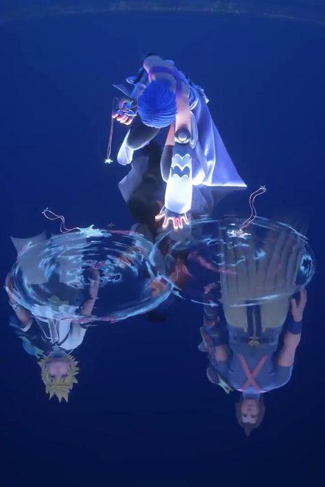 Kingdom Hearts Aqua Ventus Terra 0 2 Kingdom Hearts Pinterest