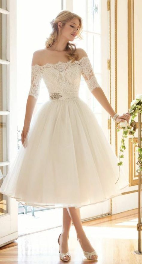 Asos Vestidos Cortos Broche De Decoración Falda De Tul Cortos Elegantes Ideas Novia Vesti Short Lace Wedding Dress Wedding Dresses Long Wedding Dresses