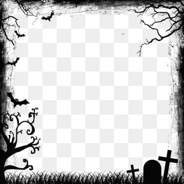 Black Flat Style Halloween Border Black Plane Frame Png Transparent Clipart Image And Psd File For Free Download Halloween Borders Clip Art Borders Halloween Clipart