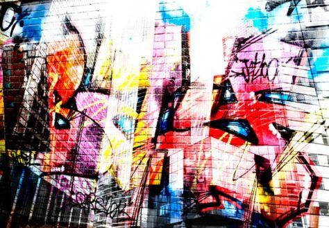 New Graffiti Papier Peint