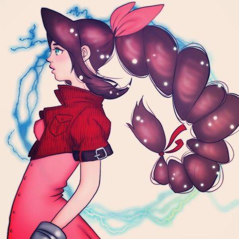無性にファイナルファンタジー7をしたい! エアリス好き🤗 #manga #mangaart #anime #animeart #illustrator #イラストレーター #漫画 #アニメ #japanese  #japanartist #ibispaint #ibispaintx #練習 #好き #可愛い #女の子 #girl #ファイナルファンタジー #エアリス #ゲーム
