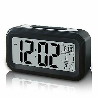 Details About Gloue Battery Operated Cordless Digital Alarm Clock