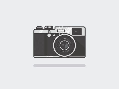 Fuji X100 Fuji X100 Camera Illustration Camera Sketches