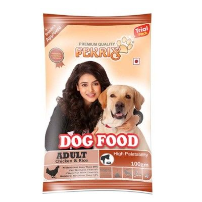 Fekrix Adult Chicken And Rice Dog Food 100 Gm Dog Food Recipes