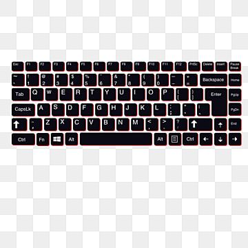 Keyboard Computer Communication Png And Vector With Transparent Background For Free Download Keyboard Computer Computer Communication