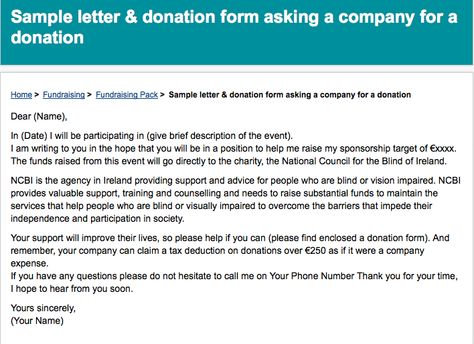 Write a Letter Requesting Sponsorship - event sponsorship letter sample