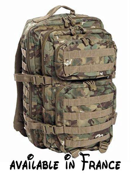 Camo Sac à dos Sac à dos militaire armée école Sac Camouflage