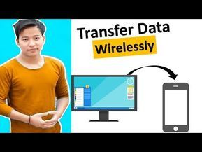 Transfer Pictures From Phone To Computer Wirelessly
