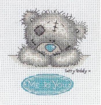 Me To You - Tatty Teddy Cross Stitch Kit