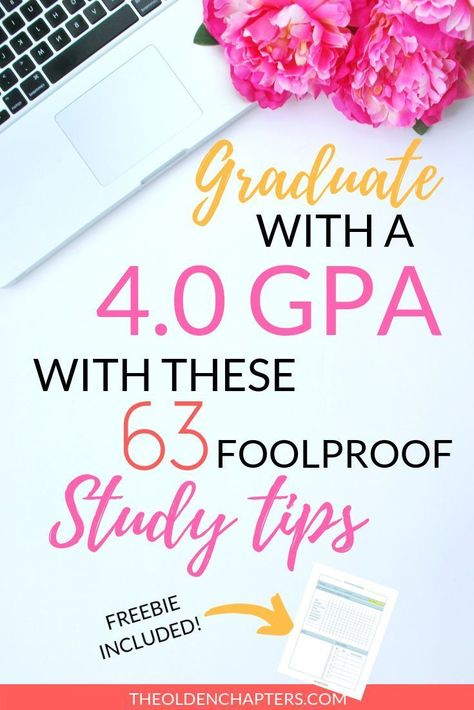 63 insane study tips that will skyrocket your GPA in WEEKS! Includes a free study planner!