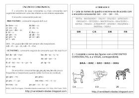 Varal De Atividades Encontro Consonantal Br Cr Dr Fr Com