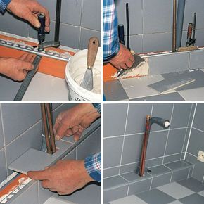 Comment Cacher Les Canalisations Cache Tuyau Bricolage Salle