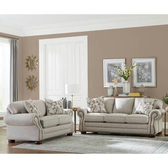 Winston Porter Saltzman 2 Piece Living Room Set Wayfair Living Room Sets Living Room Furniture Living Room Sets Furniture