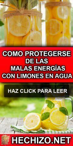 Los Limones En Agua Es Un Remedio Muy Extendido Para Renovar Y Limpiar Las Malas Energías De U Malas Energias Limpiar Malas Energias Limpieza De Malas Energias
