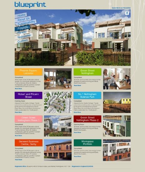 17 best Blueprint images on Pinterest Website, Blue and Green street - best of blueprint architecture nottingham