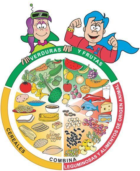 Taller El Plato Del Bien Comer Plato Del Bien Comer Plato Del Buen Comer Alimentación Saludable Para Niños