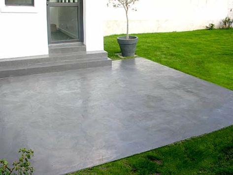 Peinture Terrasse Ciment Exterieur