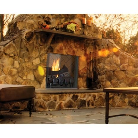 What Better Way Is There To Enjoy A Beautiful Night Outside Then Sitting By A Fire Thats Where Our Superior Vr Outdoor Gas Fireplace Fireplace Set Fireplace