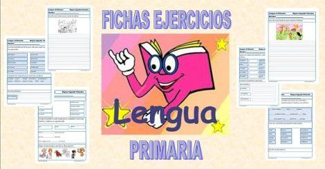 Fichas de ejercicios y actividades de lengua para Tercero de Primaria ( 8-9 años), repasamos la segunda evaluación con fichas de comprensió...